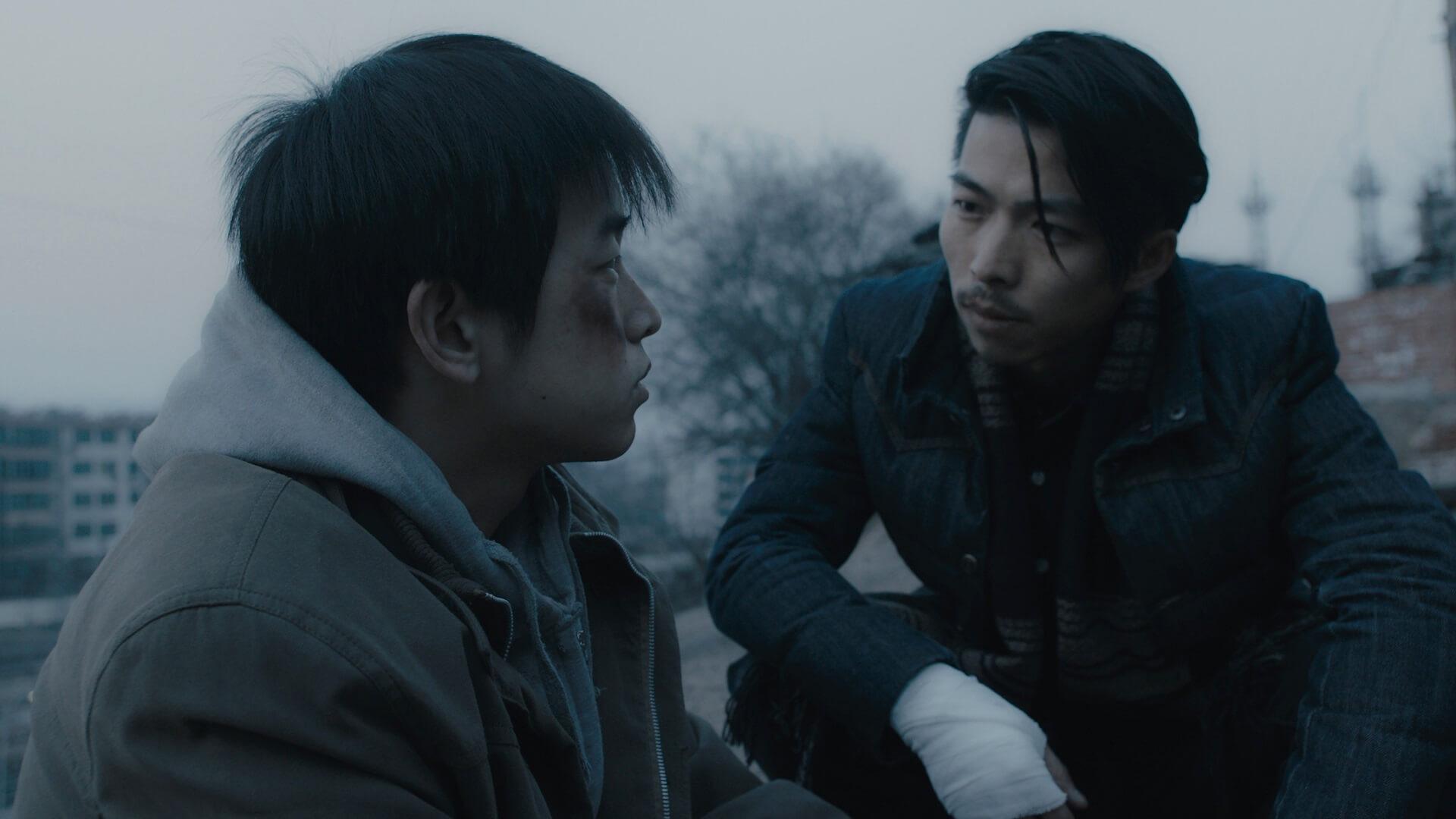 Peng Yuchang and Zhang Yu in Hu Bo's An Elephant Sitting Still (2018)