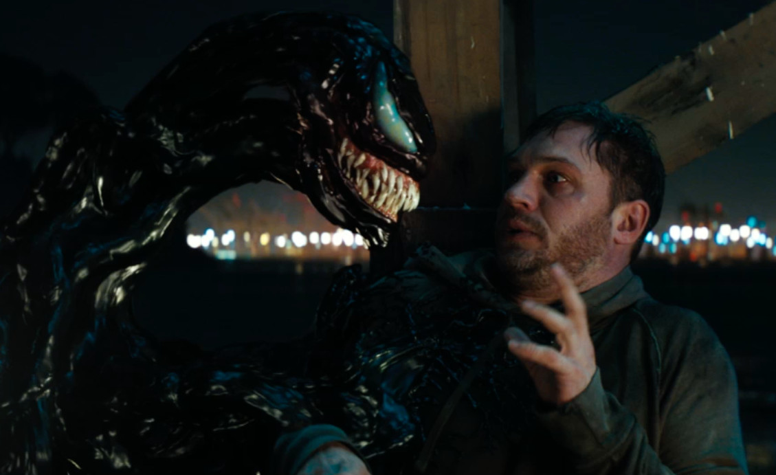 Venom, starring Tom Hardy