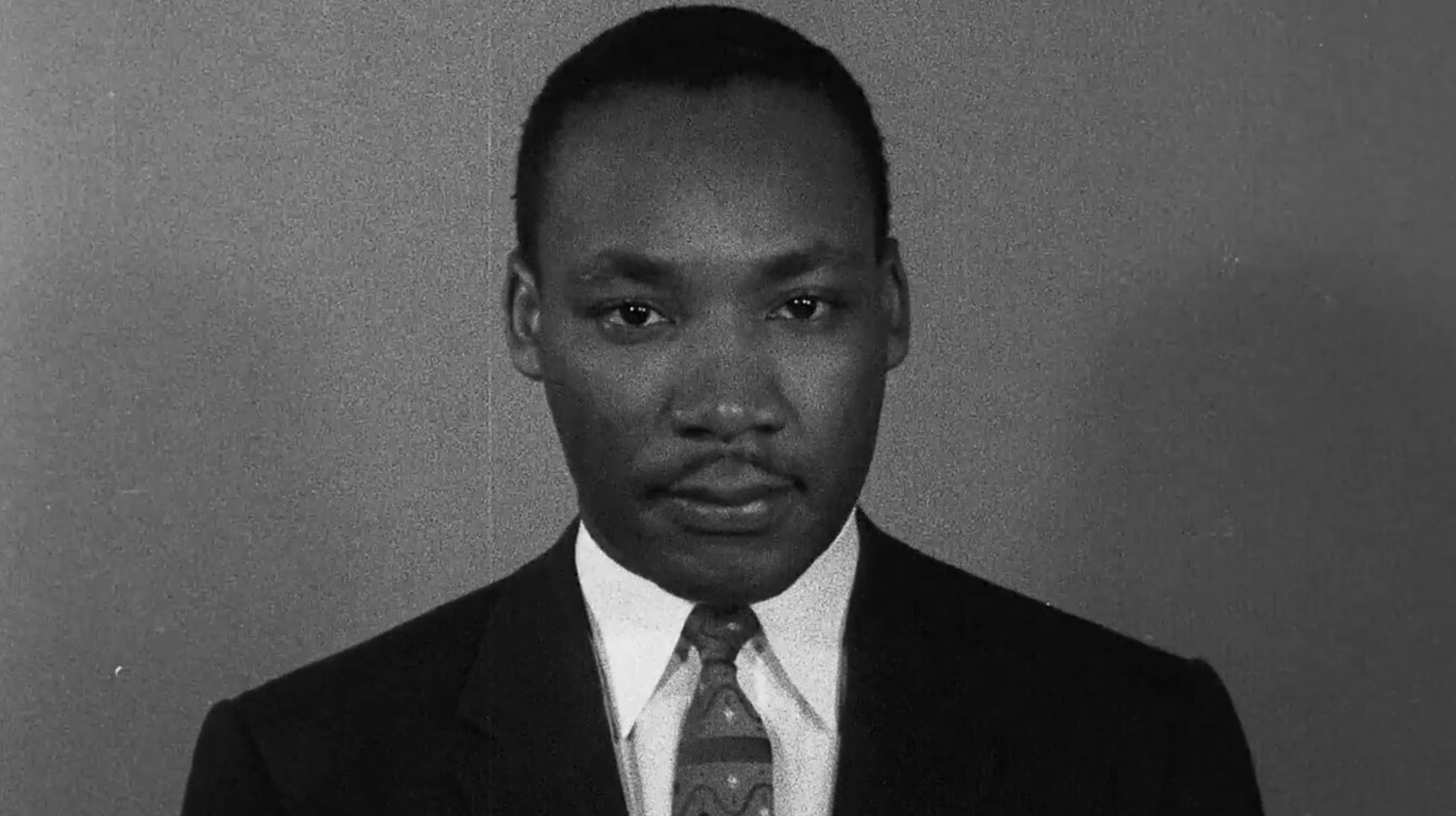 A young Dr. Martin Luther King, Jr. in Sam Pollard's documentary MLK/FBI