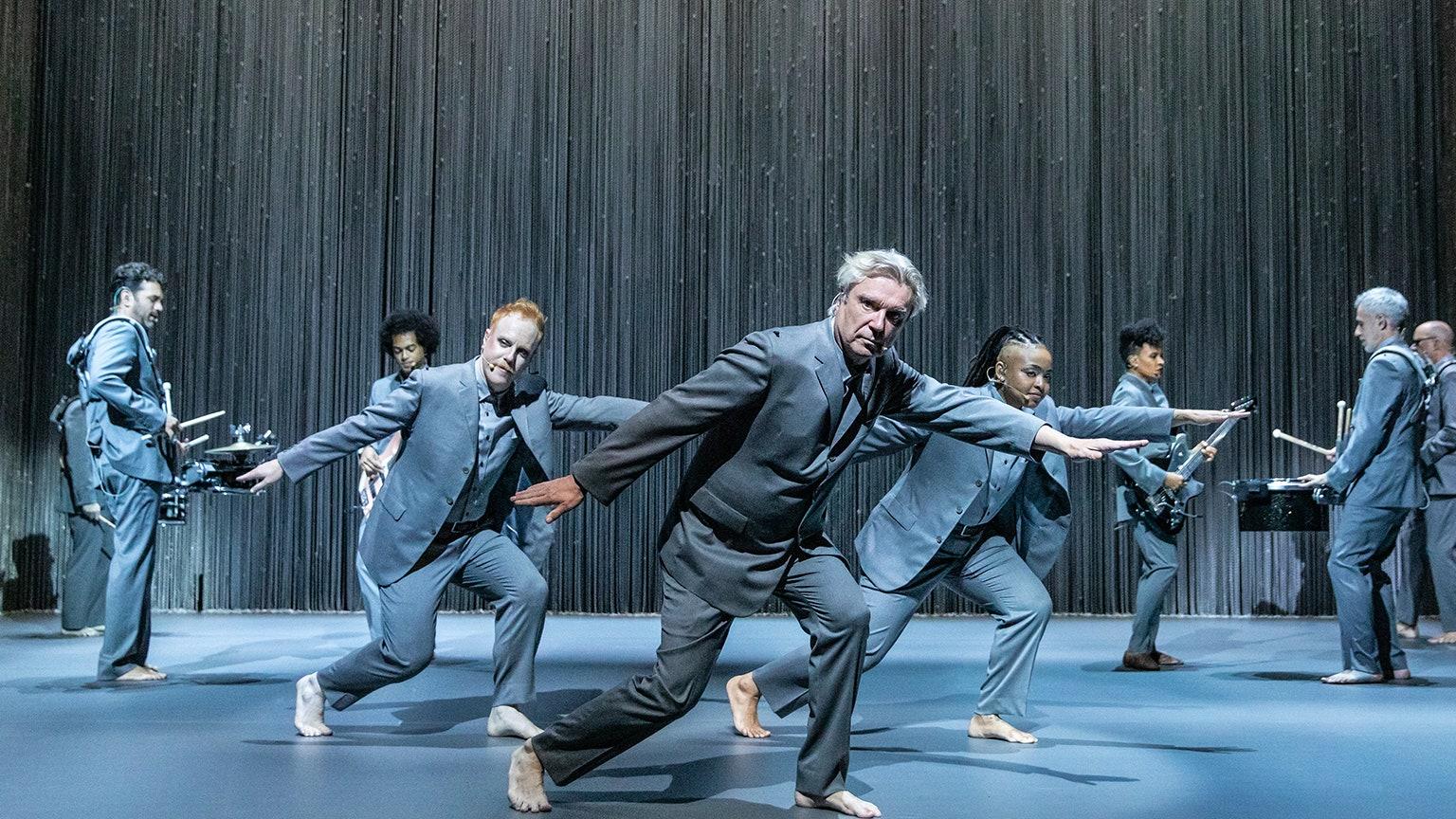 Dancing barefoot in David Byrne's American Utopia directed by Spike Lee