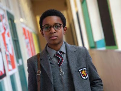 Kenyah Sandy in Steve McQueen's Education, final film of Small Axe