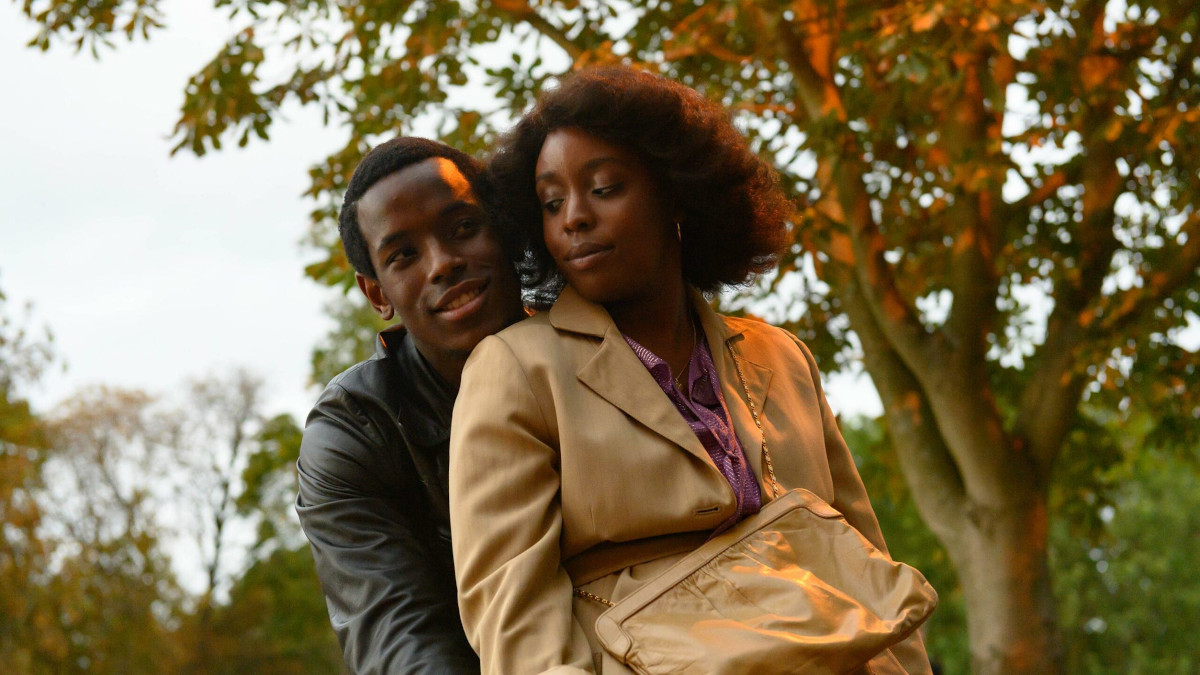 Lovers Rock from Steve McQunee's Small Axe film anthology, starring Amarah-Jae St. Aubyn and Micheal Ward